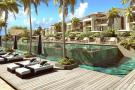 CGI of communal winning pool are terrace area at St Antoine Mauritius