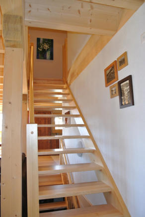 Stairwell at Chalet Alina