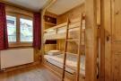 Children's bunk beds at Gai Torrent apartment in Verbier