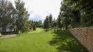 Chalet Andorra garden during the summer