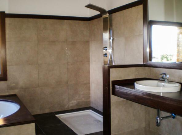 Bathroom at Chalet Andorra
