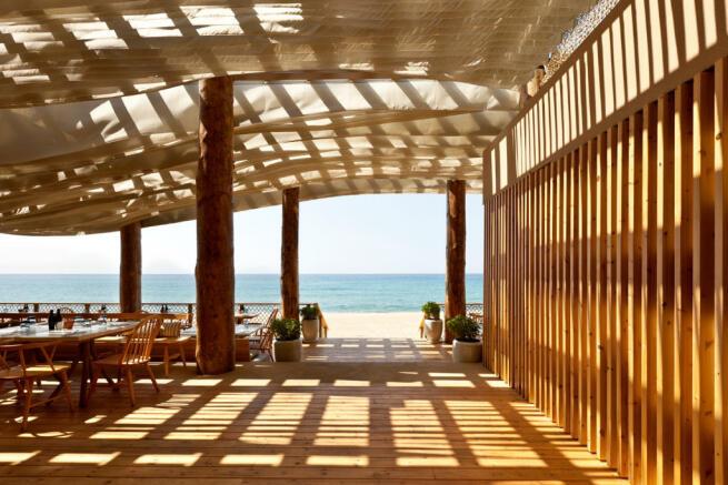 Barbouni Restaurant at Navarino Dunes, Costa Navarino