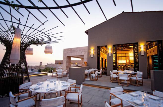 Inbi Restaurant at Navarino Dunes, Costa Navarino