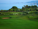 The Dunes golf course with sea views at Costa Navarino