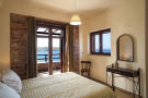 Double bedroom with terrace and sea views