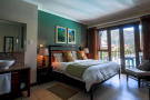 Double bedroom with balcony view