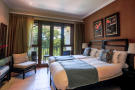 Guest double bedroom with balcony view