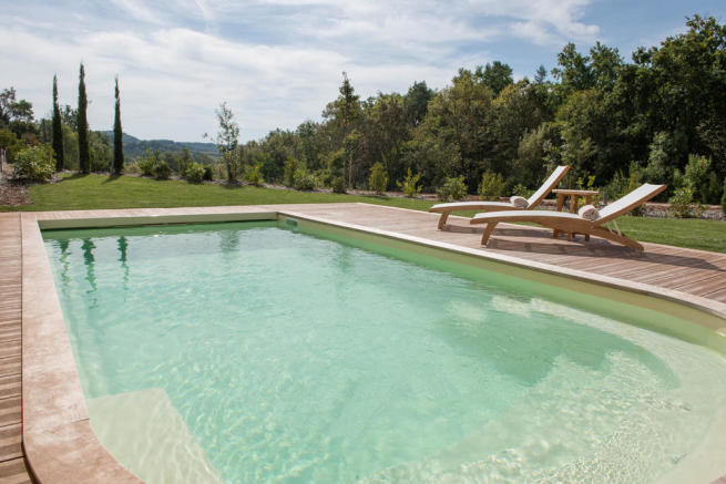 Pool view South
