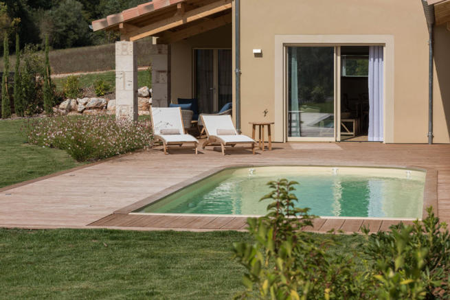 South terrace Full villa