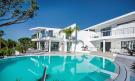 Pool and villa façade