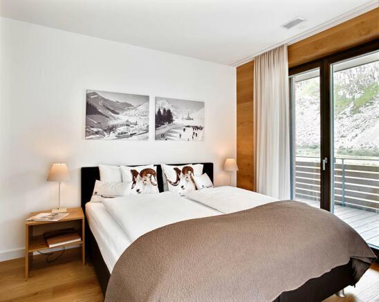 Gemse-bedroom