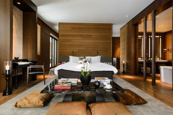 The Chedi Residences Grand Deluxe Suite - Bedroom