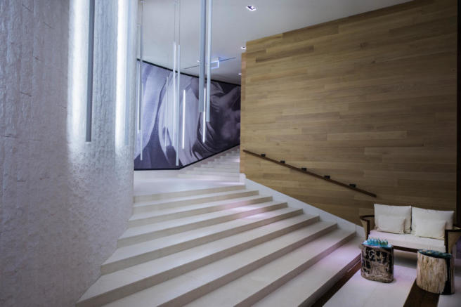 The Chedi Andermatt Hotel Spa Fitness - Staircase