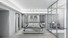 Modern style Bedroom - West Corner Apt - at The Terrases