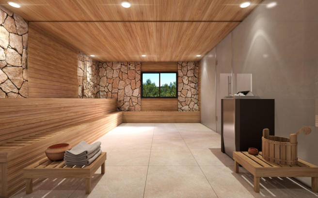 PALMA ONE HD SAUNA