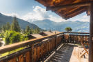 Terrace with mountain views