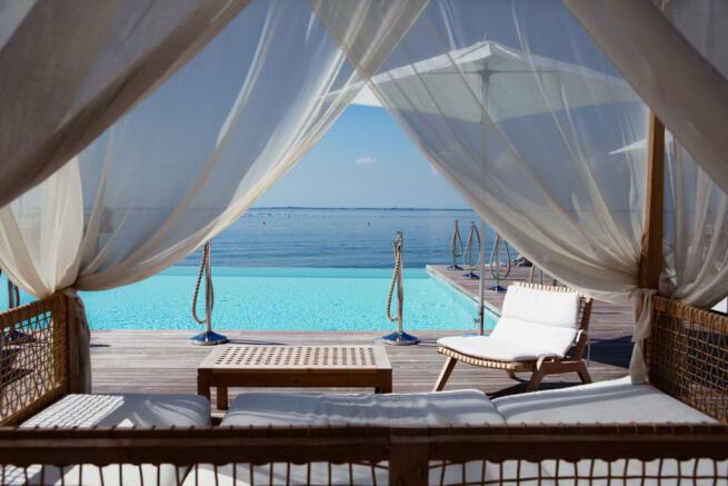Beach Club pool at Portopiccolo