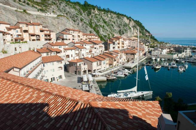 Borgo & Marina view at Portopiccolo