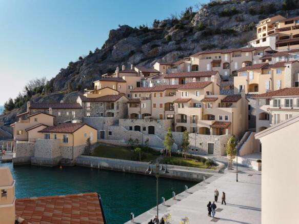 Hotel with Borgo and Terrace Apartments at Portopiccolo