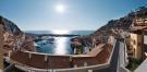 Panoramic view of marina from Borgo at Portopiccolo