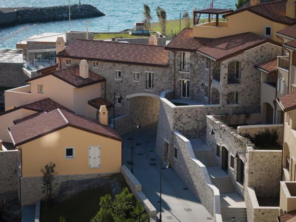 View of Borgo with Terrace Apts at Portopiccolo