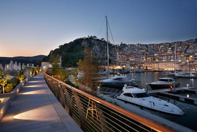 Nearby castle mansion in Trieste