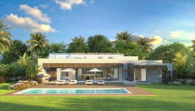 Anahita Mauritius - Rive Est (facade premium villas)