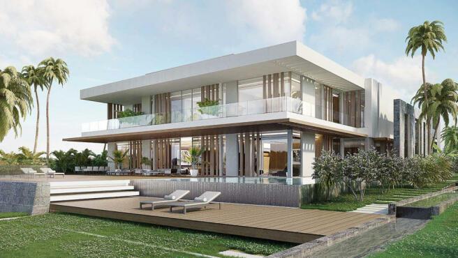 Anahita Mauritius - Rive Est (aerial premium villas)