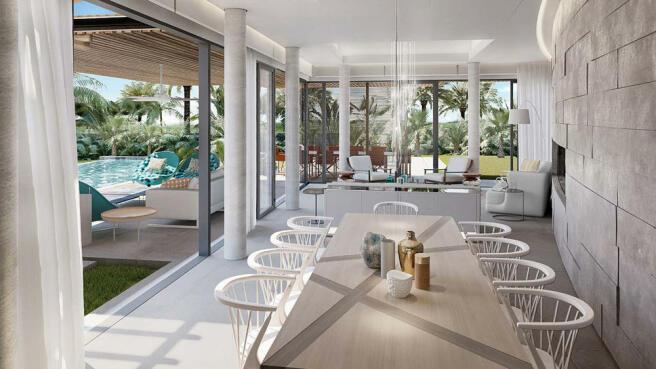 Anahita Premium villa by ASL - Front view