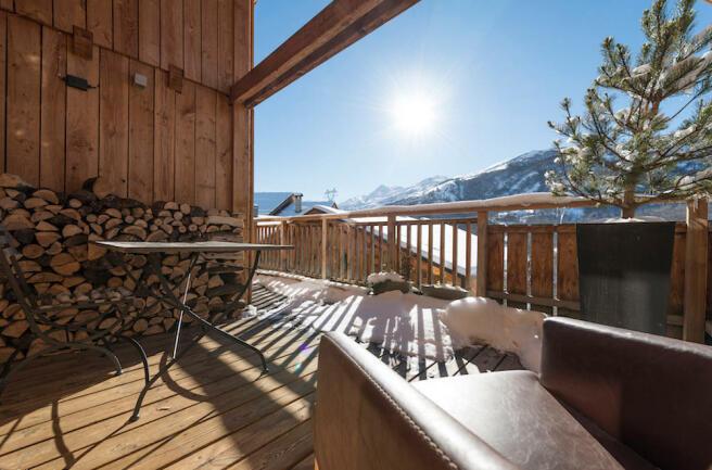 Chalet terrace