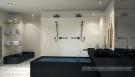 Penthouse bathroom at the Porsche Design Tower in Miami