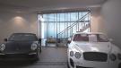 Penthouse garage at the Porsche Design Tower in Miami