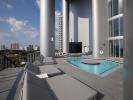 Porsche Design Tower in Miami - spa pool area