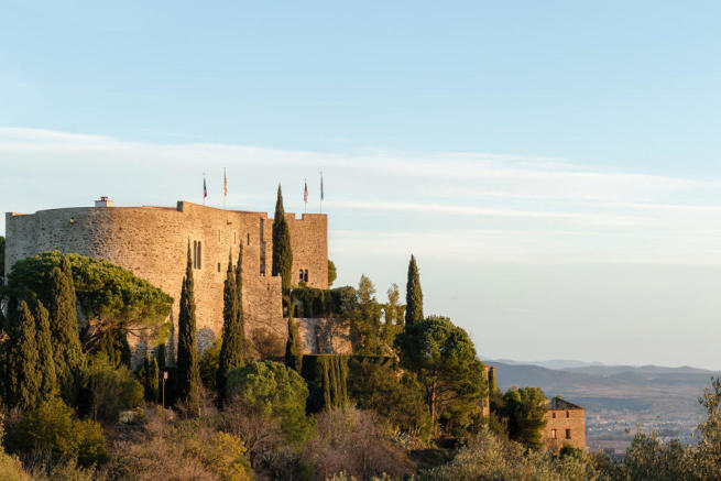 Corbere from behind Perpignan view