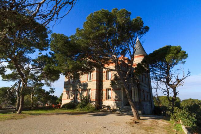 Château Capitoul in current state