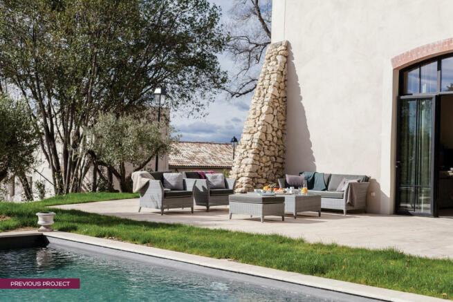 Pool villa - previous project