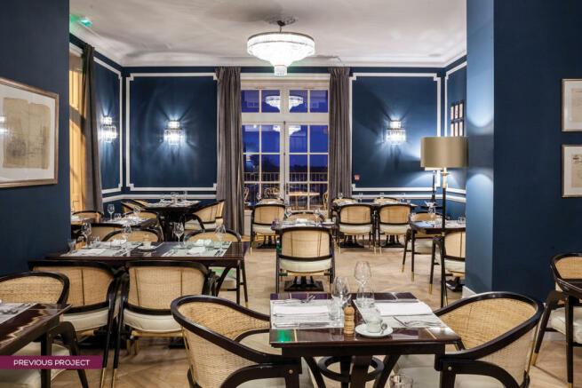 Restaurant at Château St Pierre de Serjac - previous project