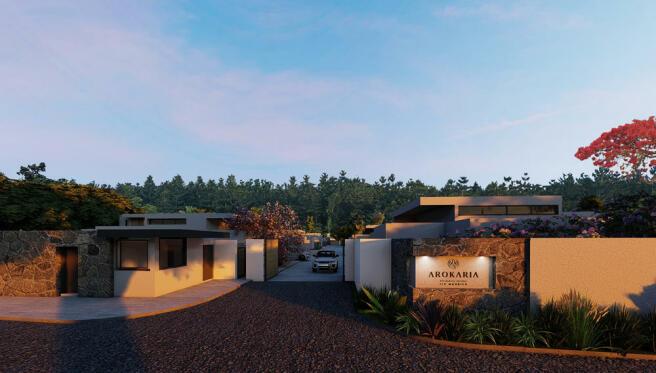 Arokaria Luxury Villa for sale Mauritius Gateway