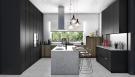Kitchen CGI - Arokaria Luxury Villas Mauritius