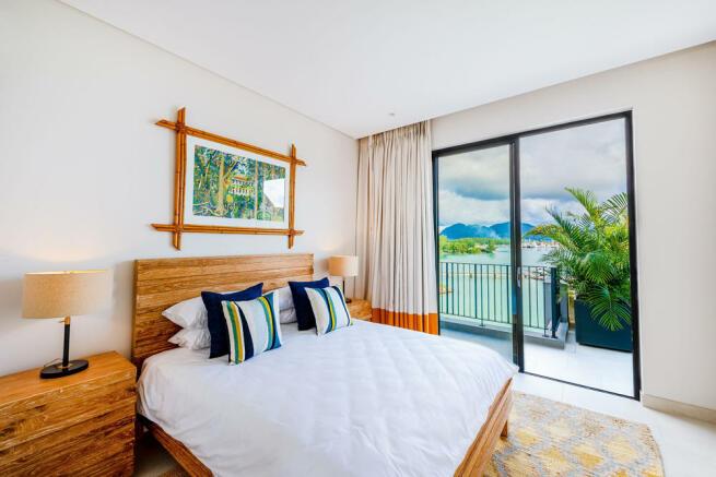 Panigia Beach Penthouse B bedroom