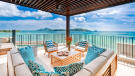 Panigia Beach Penthouse D outdoor living area with sea views