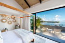 Panigia Beach Penthouse D master bedroom with private terrace