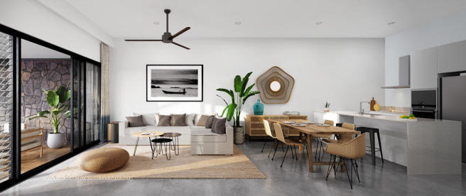 Amara Apartment - Living