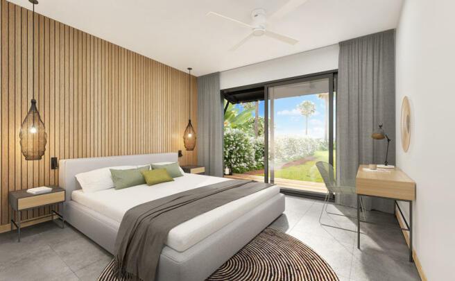 Amara Villa - Master Bedroom