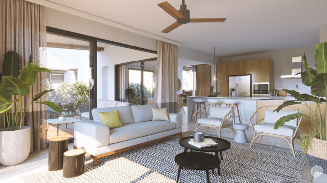 Enne?a Villa - Living Room