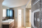 Second en suite bathroom with shower off the master bedroom in a 5-bed villa in Mougins