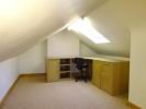 Attic hobbies room