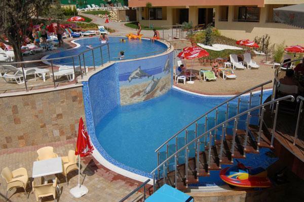Split-Level Pool