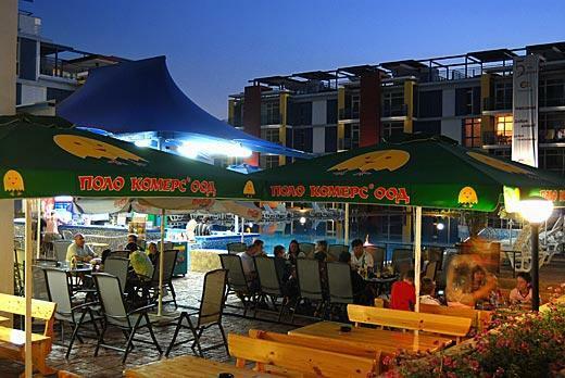 pool bar night