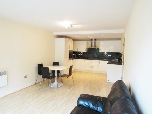 Open Plan Living Room/Kitchen Area